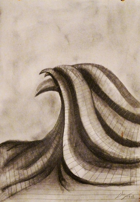 Graphite on paper, 2012. © Kyriakos Papageorgiou
