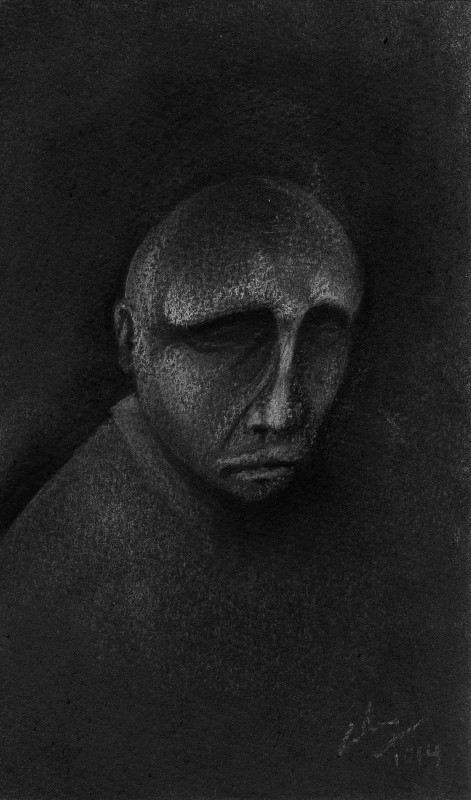 Charcoal, pastel on paper, 2014. © Kyriakos Papageorgiou